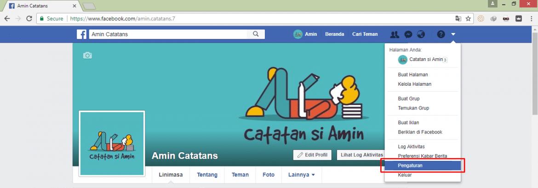 Cara Mudah dan Cepat Mengganti URL Facebook