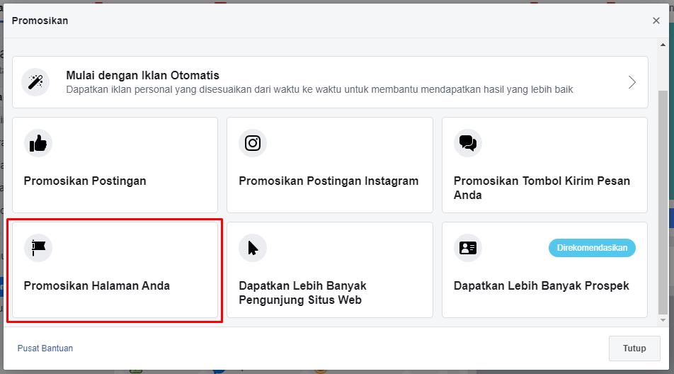 cara menambah like fanspage facebook