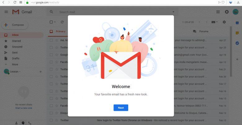 Photo of Mencoba Tampilan dan Fitur Baru Gmail Setelah di Perbaharui oleh Tim Google