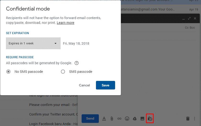 Tampilan dan Fitur Baru Gmail