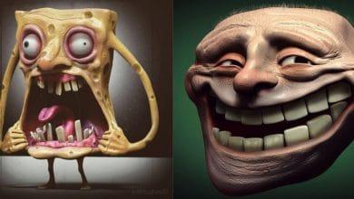 Photo of Dahsyat! Seniman ini Merubah Tokoh Kartun Lucu Menjadi Seram. Berani Lihat!