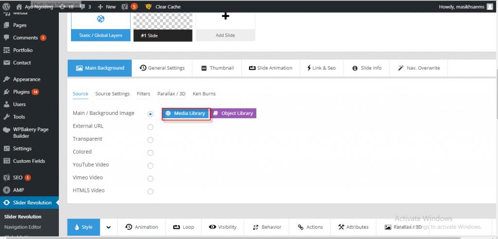 Cara Membuat Slider di WordPress menggunakan Slider Revolution